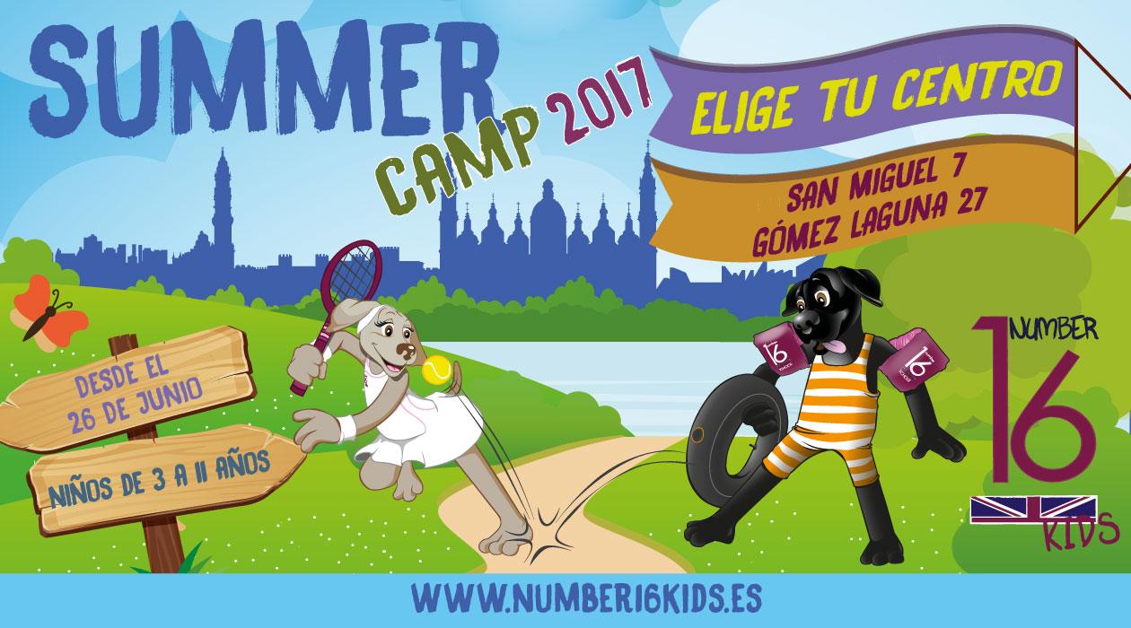 Summer-Camp-2017 Number 16 School Campamentos de verano en inglés en Zaragoza