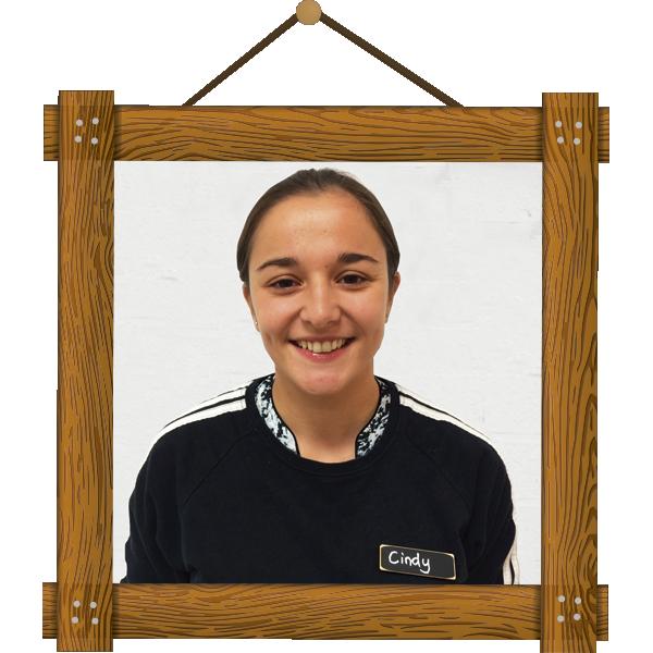 Cindy, profesora y coordinadora de Number 16 School KIDS Gómez Laguna