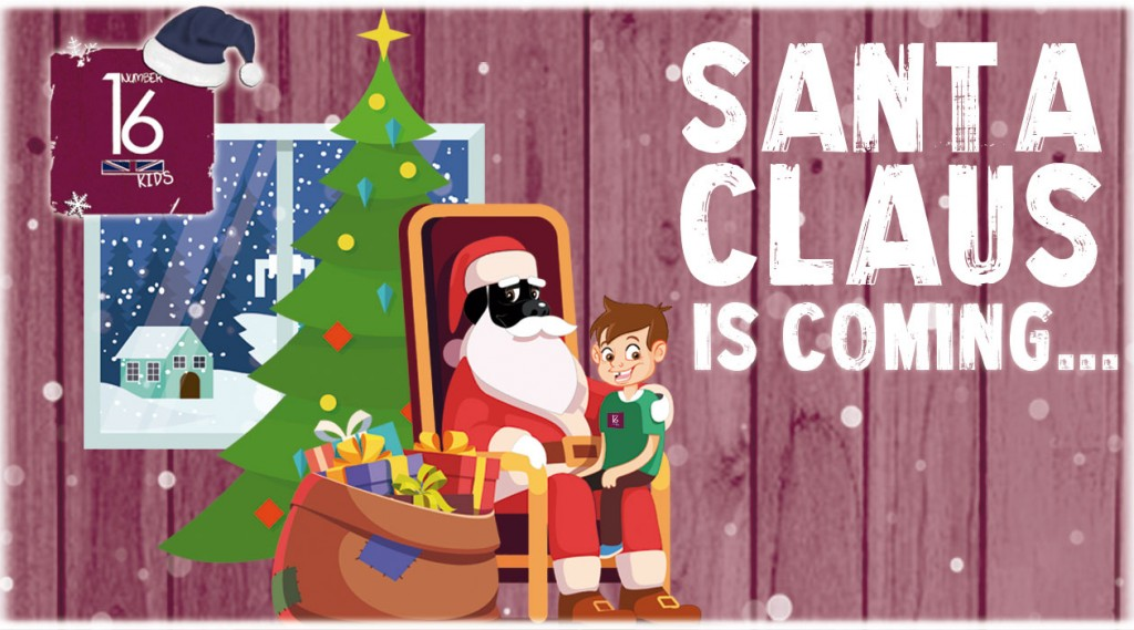 Santa Claus visits Number 16 School